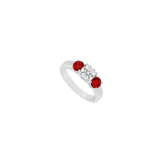 Preload https://img-static.tradesy.com/item/23622238/white-red-three-stone-created-ruby-and-cubic-zirconia-925-sterling-silver-ring-0-0-540-540.jpg