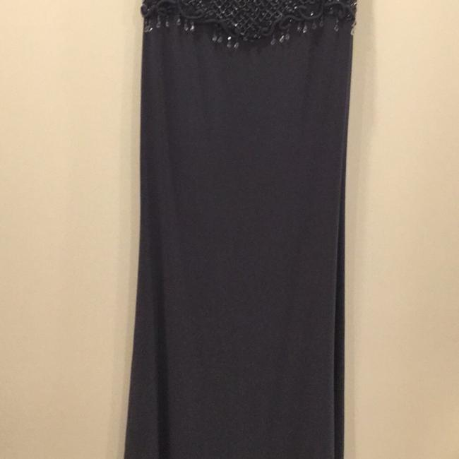 Silver Maxi Dress by Mac Duggal Couture Image 2