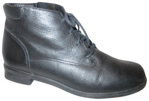 Rockport Leather Ankle Lace Up Oo1 black Boots