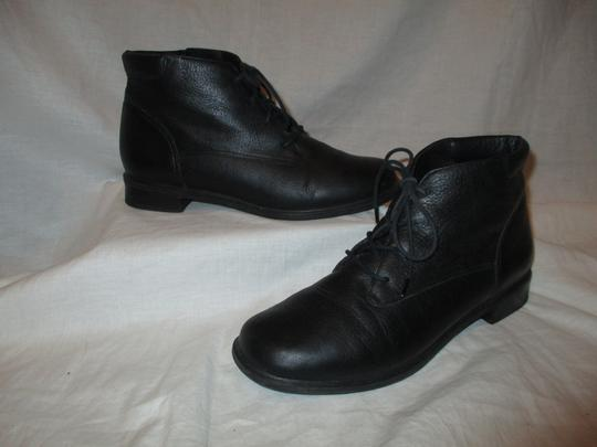Rockport Leather Ankle Lace Up Oo1 black Boots Image 1