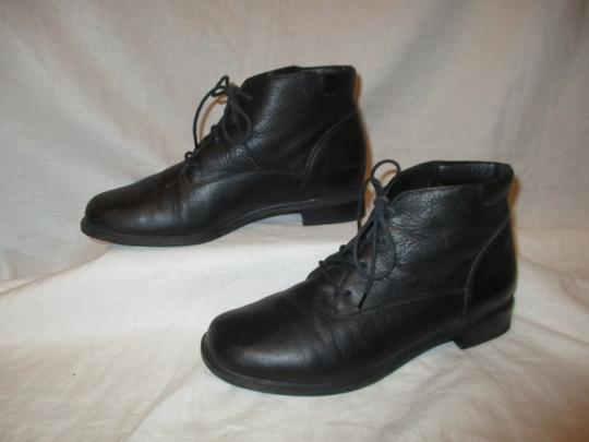 Rockport Leather Ankle Lace Up Oo1 black Boots Image 2