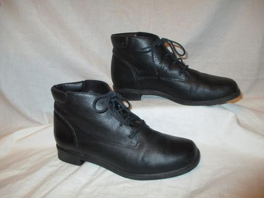 Rockport Leather Ankle Lace Up Oo1 black Boots Image 3