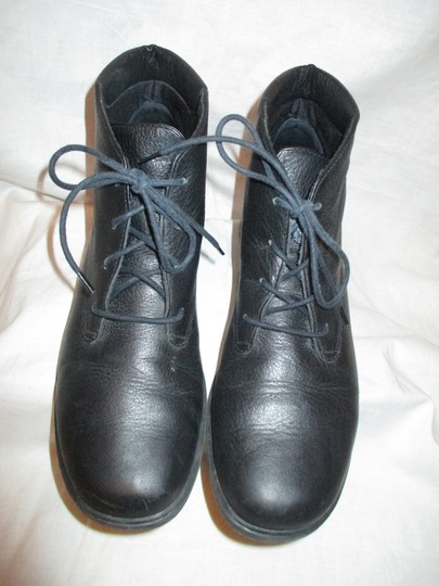 Rockport Leather Ankle Lace Up Oo1 black Boots Image 4