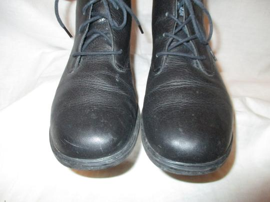 Rockport Leather Ankle Lace Up Oo1 black Boots Image 5
