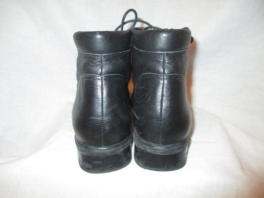 Rockport Leather Ankle Lace Up Oo1 black Boots Image 6