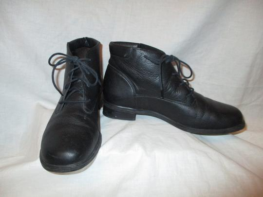 Rockport Leather Ankle Lace Up Oo1 black Boots Image 8