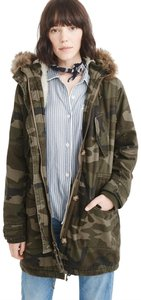 Abercrombie & Fitch Parka Winter Military Jacket