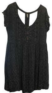 Free People short dress blue and green on Tradesy