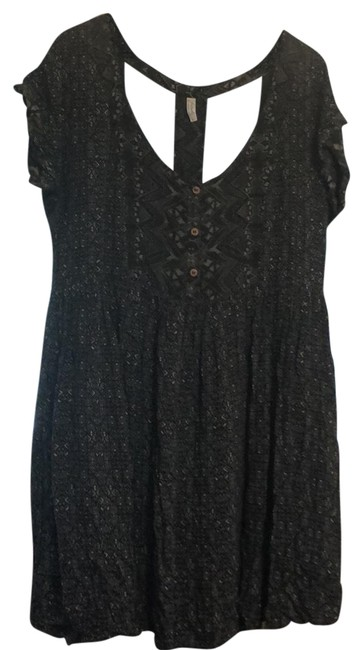 Preload https://img-static.tradesy.com/item/23622605/free-people-blue-and-green-mid-length-short-casual-dress-size-14-l-0-1-650-650.jpg