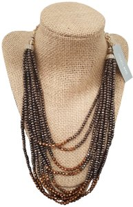 Lydell NYC Unique Chic Design by Lyndell NYC Gold Plated Beaded Necklace