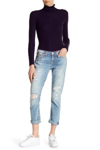 True Religion Boyfriend Cut Jeans-Light Wash