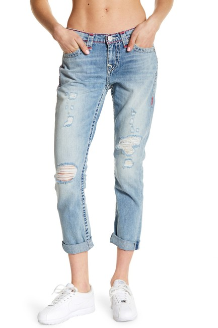 True Religion Boyfriend Cut Jeans-Light Wash Image 1
