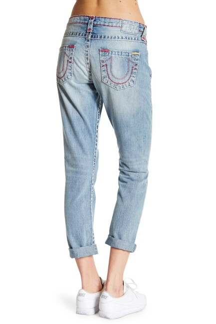 True Religion Boyfriend Cut Jeans-Light Wash Image 2