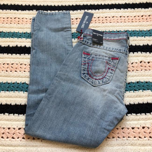 True Religion Boyfriend Cut Jeans-Light Wash Image 3