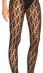 Fendi SOLD OUT FENDI FF STOCKINGS TIGHTS PANTYHOSE SMALL