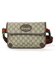 Gucci New Monogram Belt beige Travel Bag
