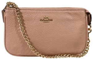 Coach Bags Cross Body Wristlet in Nude Pink
