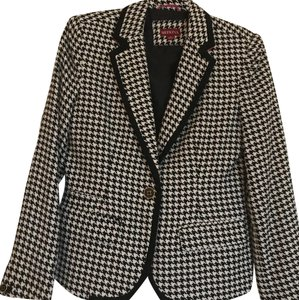 Merona Black and White Blazer