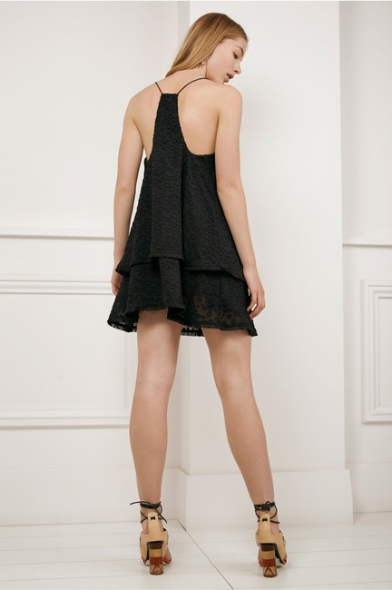 c/meo collective short dress black C/Meo Tiered Ruffle Cami on Tradesy Image 2