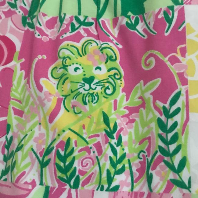 Lilly Pulitzer Mini Skirt Pink and Green Image 1