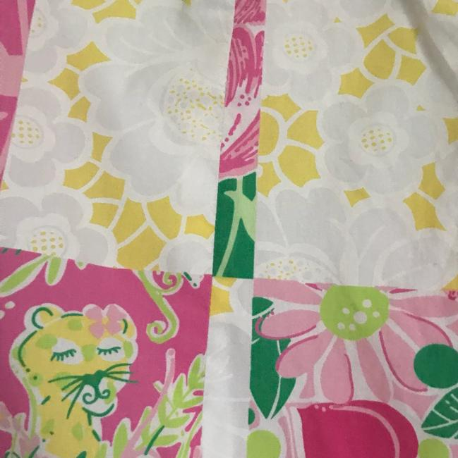Lilly Pulitzer Mini Skirt Pink and Green Image 3