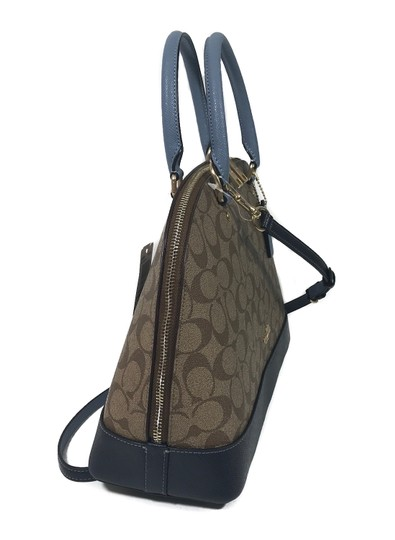 Coach Bags Cross Body Signature Satchel in Multicolor Image 8