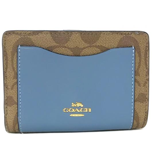Coach NEW COACH Medium Coated Canvas Zip Wallet Image 0