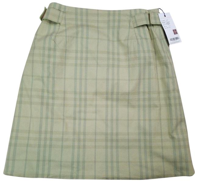 Item - Green Reversible Nova Check Wrap Skirt Size 8 (M, 29, 30)