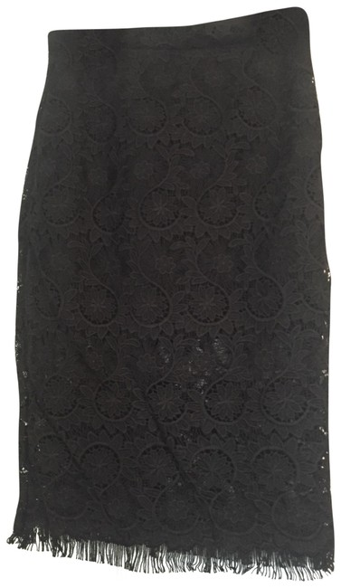 Item - Black Bnwt Lace In Small Skirt Size 4 (S, 27)