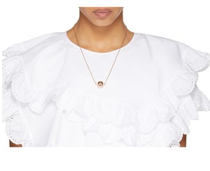 Isabel Marant Rose Gold sphere Necklace