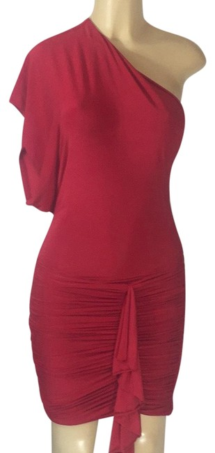 Preload https://img-static.tradesy.com/item/23623683/red-sexy-mid-length-cocktail-dress-size-4-s-0-1-650-650.jpg