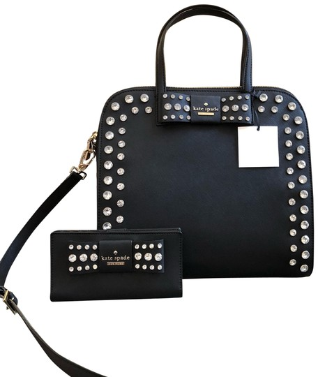 Preload https://img-static.tradesy.com/item/23623712/kate-spade-davies-mews-merriam-large-handbag-bundled-wwallet-set-black-leather-satchel-0-2-540-540.jpg