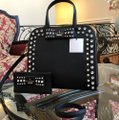 Kate Spade Davies Mews Merriam Large Satchel in Black Image 1