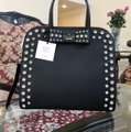 Kate Spade Davies Mews Merriam Large Satchel in Black Image 7