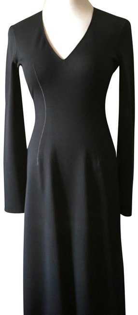 Preload https://img-static.tradesy.com/item/23623718/alaia-black-vintage-knit-fitted-sheath-mid-length-cocktail-dress-size-6-s-0-1-650-650.jpg