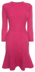 Alexander McQueen short dress Pink on Tradesy
