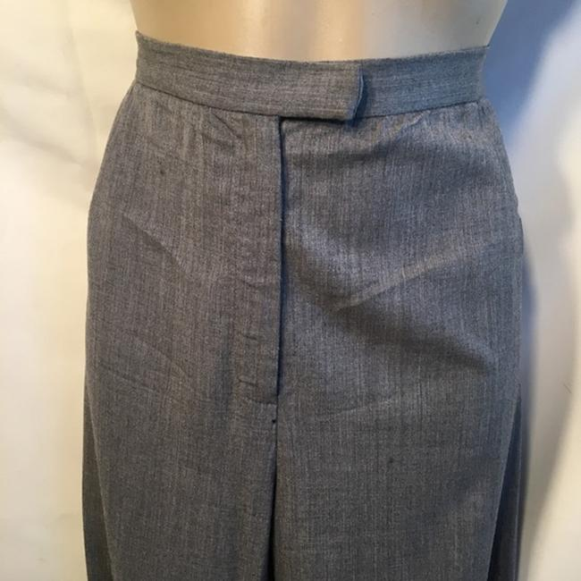 Lafayette 148 New York Trouser Pants Gray Image 1