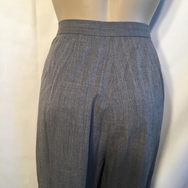 Lafayette 148 New York Trouser Pants Gray Image 2