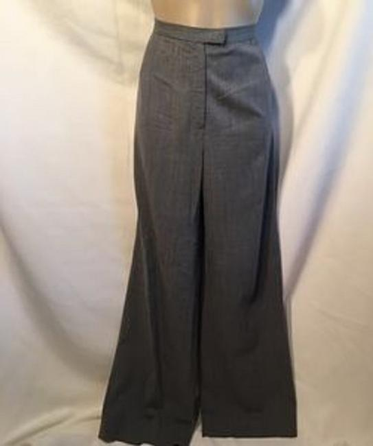 Lafayette 148 New York Trouser Pants Gray Image 4