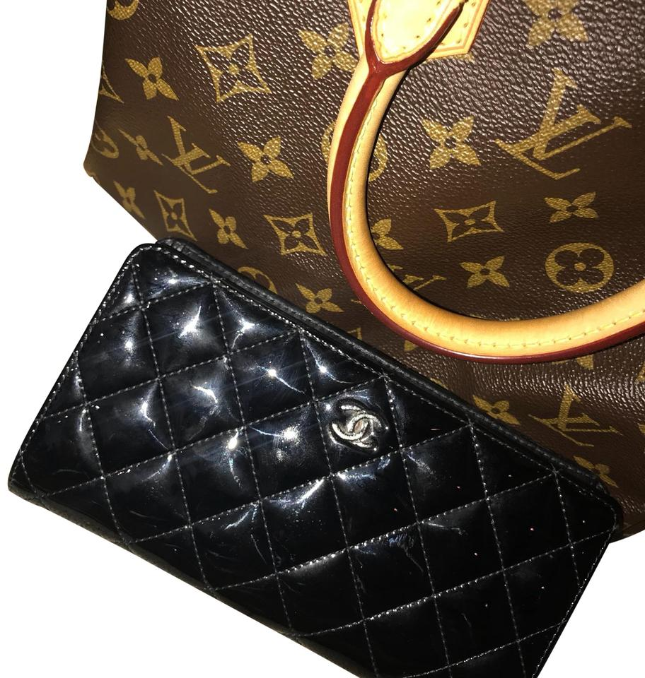 d8df6cff6582 Chanel Black Long Patent Leather Wallet - Tradesy