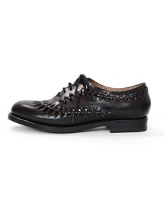 ALAÏA Leather black Flats