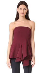 C/meo Collective C/Meo Bustier Strapless Aussie Top red