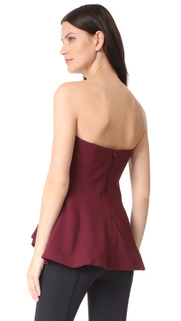 C/meo collective C/Meo Bustier Strapless Aussie Top red Image 3