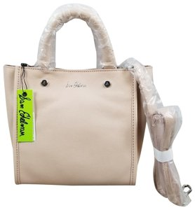 Sam Edelman Leather Exterior Dual Top Handles Magnetic Closure Tote in PInk
