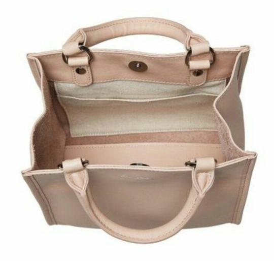 Sam Edelman Leather Exterior Dual Top Handles Magnetic Closure Tote in PInk Image 4