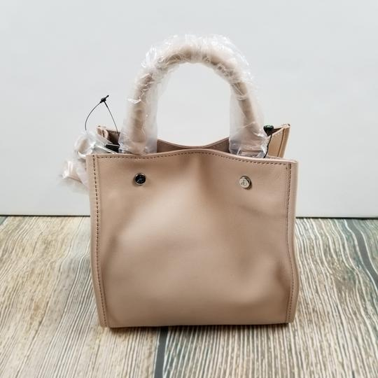 Sam Edelman Leather Exterior Dual Top Handles Magnetic Closure Tote in PInk Image 8