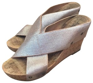 Lucky Brand Silver Wedges