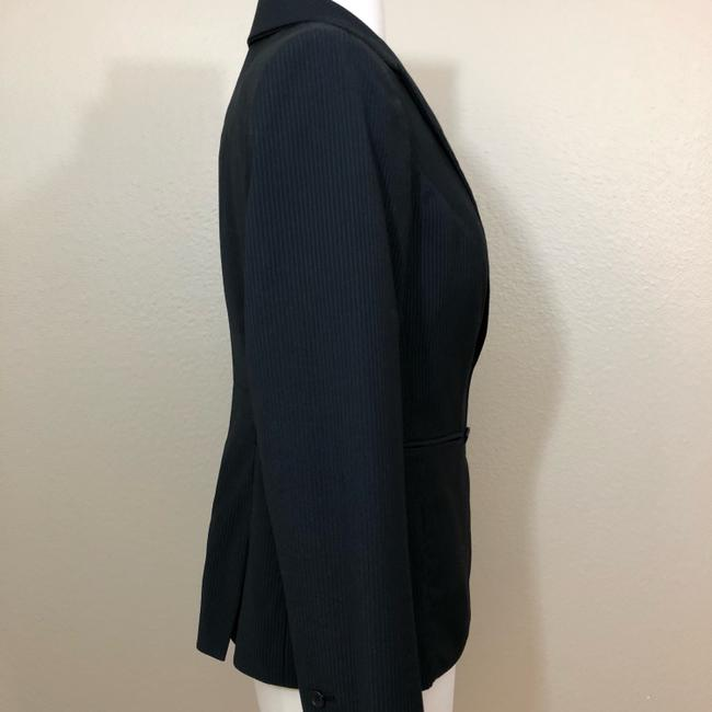 The Limited The Limited Collection PINSTRIPE SUIT Jacket 4 Black Image 3