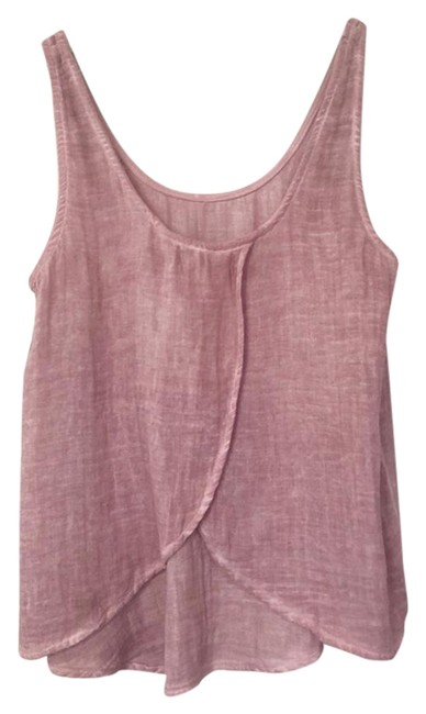 Preload https://img-static.tradesy.com/item/23624341/cloth-and-stone-maroon-women-s-m-medium-cotton-tank-topcami-size-8-m-0-1-650-650.jpg