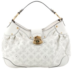Louis Vuitton Solar Handbag Satchel in white